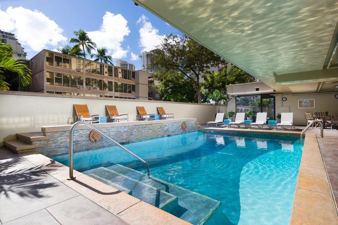Aqua Ohia Waikiki Studio Suites - Honolulu - Piscina