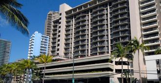 威基基阿瓜棕櫚酒店 - 檀香山 - 建築