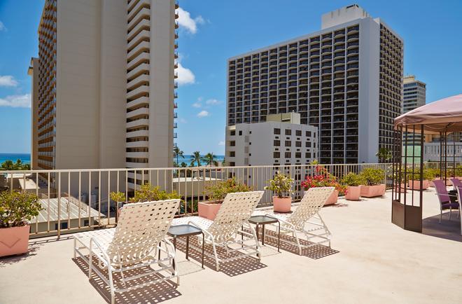 Ewa Hotel Waikiki - Honolulu - Parveke
