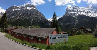 Downtown Lodge Hostel - Unique Simple Central - Grindelwald - Näkymät ulkona
