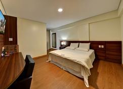 Porto Bello Palace Hotel - Uberlândia - Slaapkamer