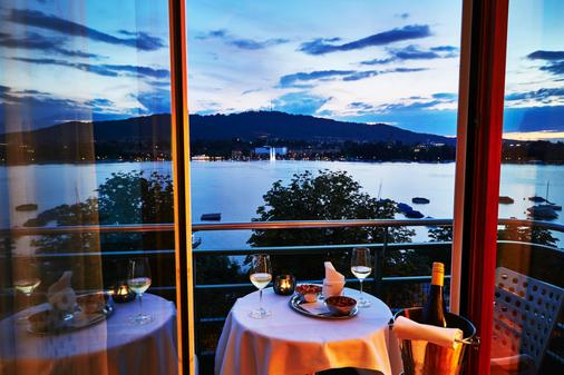 Steigenberger Hotel Bellerive au Lac - Zurich - Ban công