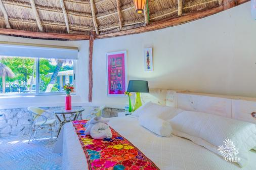 Hotel Paradise Suites - Isla Mujeres - Bedroom
