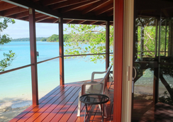 Sunrise Beach Cabanas Ecoresort - Luganville - Balkon