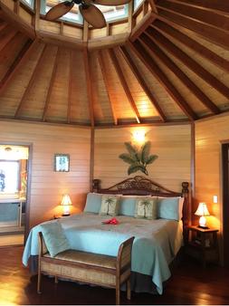 Sunrise Beach Cabanas Ecoresort - Luganville - Schlafzimmer