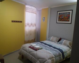 Hostal Capac - Ayacucho - Schlafzimmer