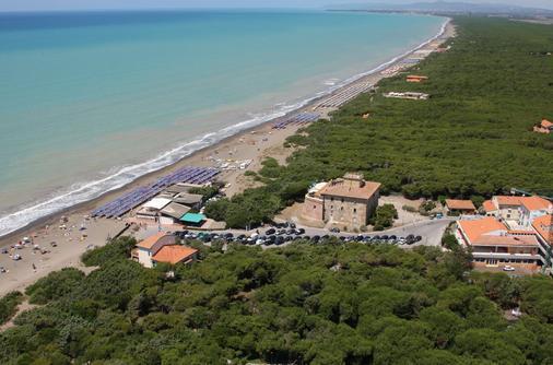 Hotel Paradiso Verde - Bibbona - Beach