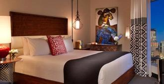 Hotel Contessa - Luxury Suites on the Riverwalk - San Antonio - Camera da letto