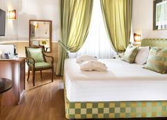 貝斯特韋斯特普拉斯密爾頓羅馬酒店 - 羅馬 - 羅馬 - 臥室