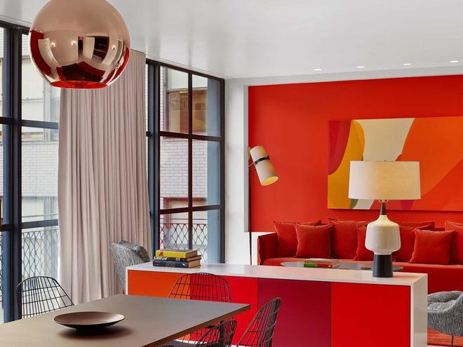 威廉酒店 - 紐約 - 客廳