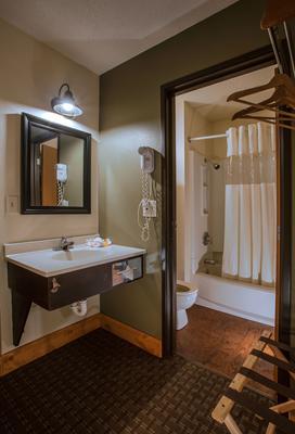 River Inn - Wisconsin Dells - Bathroom