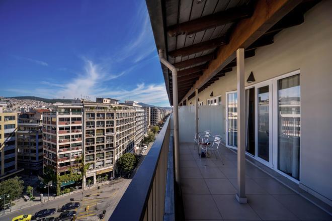 阿斯托利亞酒店 - 塞薩羅尼奇 - 塞薩洛尼基 - 陽台