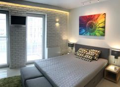 4uapart - Apartment Studio Mohito - Świnoujście - Bedroom