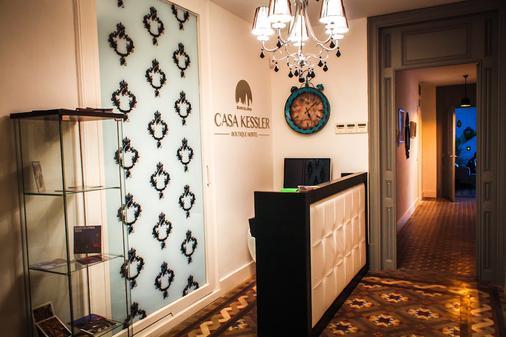 Casa Kessler Barcelona - Barcelona - Front desk