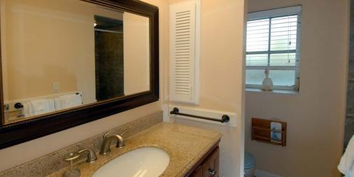 Seahorse Cottages On Sanibel - Adults Only - Sanibel - Bathroom