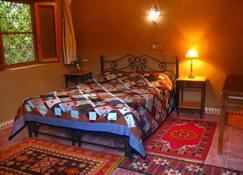 Gîte Dans la Palmeraie - Errachidia - Bedroom