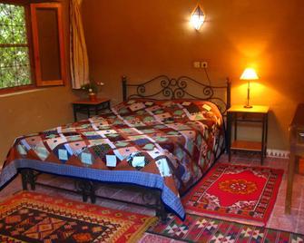 Gîte Dans la Palmeraie - Errachidia - Schlafzimmer