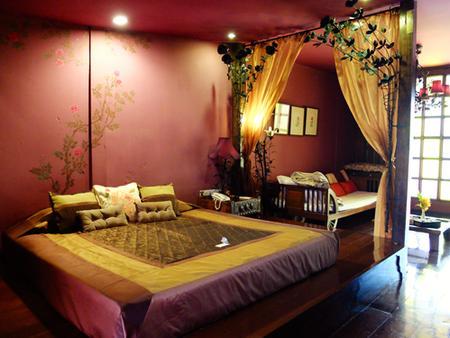 Old Capital Bike Inn - Bangkok - Bedroom
