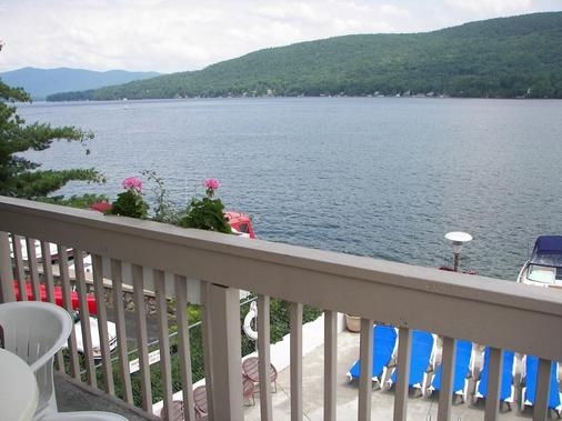 The Lake Motel - Lake George - Balcony