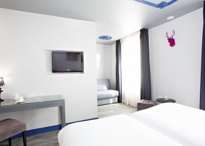 Hotel Mademoiselle - Pariisi - Makuuhuone