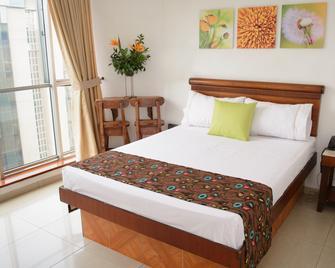 Hotel Alcaravan - Medellín - Camera da letto