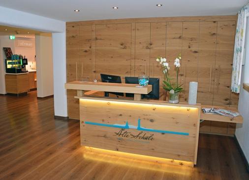 Hotel Alte Schule - Lindau (Bavaria) - Front desk