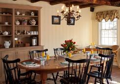 1802 House Bed & Breakfast - Kennebunkport - Ravintola