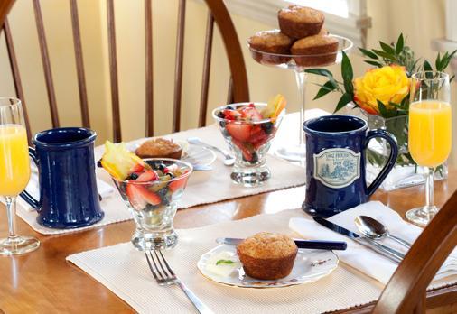 1802 House Bed & Breakfast - Kennebunkport - Ruoka