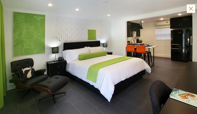7 Springs Inn & Suites - Palm Springs - Habitación