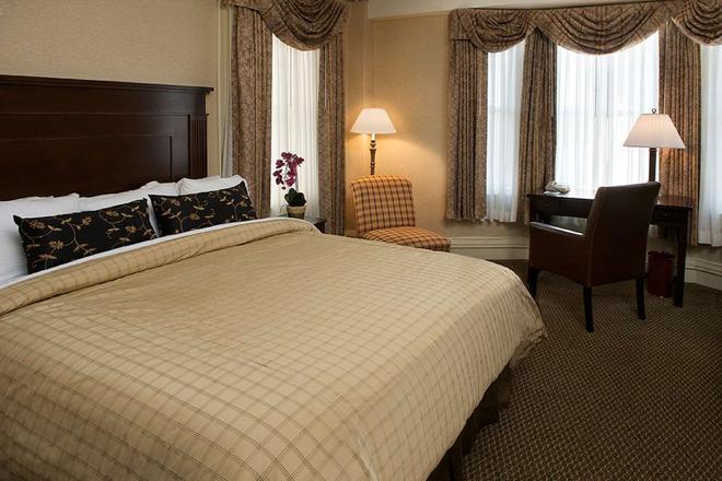 貝斯特韋斯特頂級精選聯合廣場卡特賴特酒店 - 三藩市 - 舊金山 - 臥室