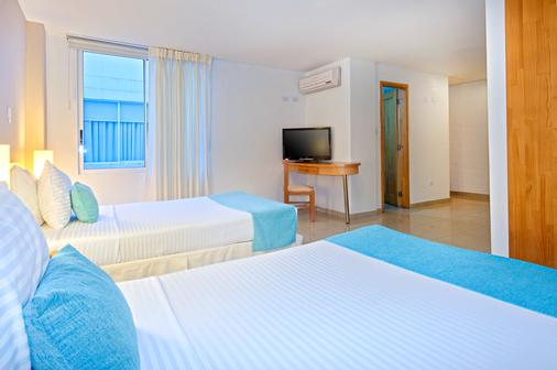 Hotel Ms Centenario Superior - Cali - Κρεβατοκάμαρα