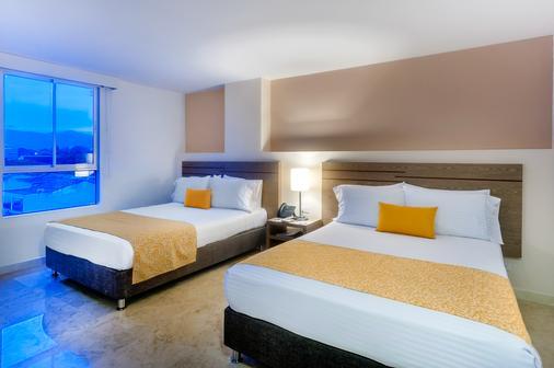 Hotel Ms Ciudad Jardin Plus - Cali - Makuuhuone