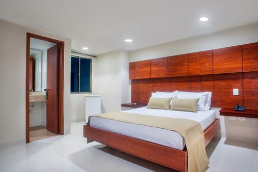 Hotel Ms Alto Prado Superior - Barranquilla - Bedroom