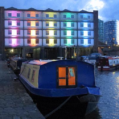 Houseboat Hotels - Hotel boat - Sheffield - Rakennus