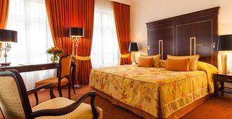 Relais & Châteaux Hotel Bülow Palais - דרזדן - חדר שינה
