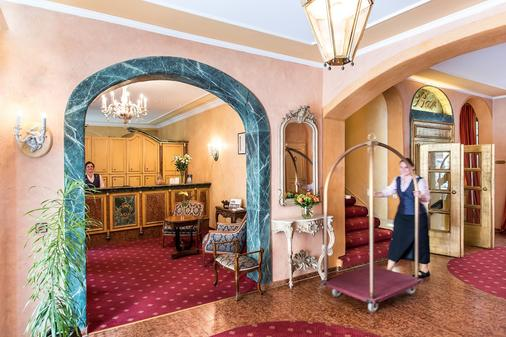 Romantik Hotel Bülow Residenz - Dresden - Vastaanotto