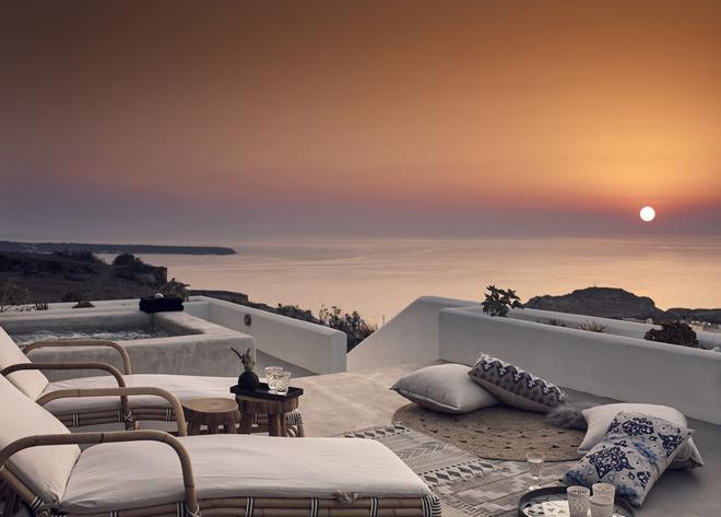 Santo Maris Oia, Luxury Suites & Spa - Oia - Balcony