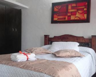 Casa Completa Villa de Leyva Luguianga - Villa de Leyva - Bedroom