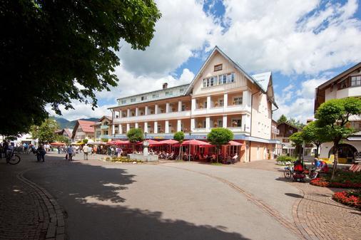 Hotel Mohren - Oberstdorf - Rakennus