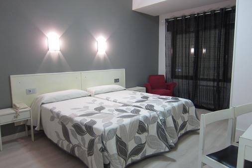 Hotel Acebos Azabache Gijón - Gijón - Bedroom