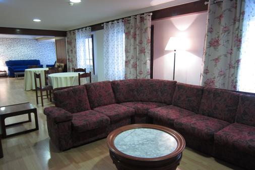 Hotel Acebos Azabache Gijón - Gijón - Living room