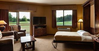 史莫奇斯野外石丘小屋酒店 - 賽維爾維爾 - 塞維爾維爾 - 臥室