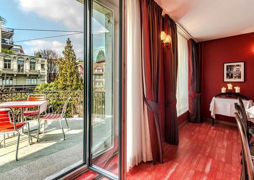 Hotel Hofgarten - Luzern - Parveke