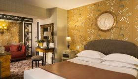 Hôtel Des Grands Hommes - Paris - Soveværelse