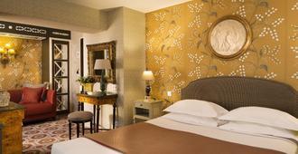 Hôtel Des Grands Hommes - פריז - חדר שינה