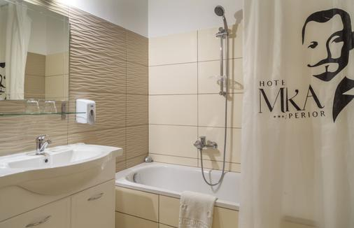 Hotel Mika Superior - Budapest - Phòng tắm