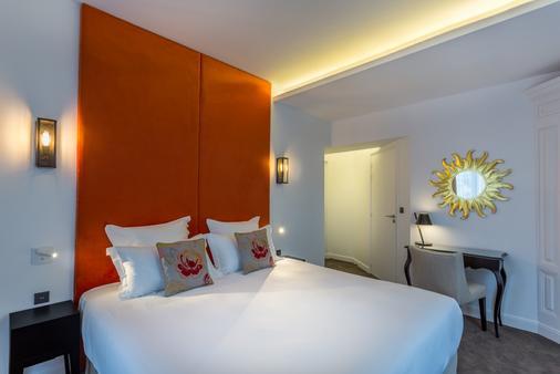 Hôtel La Comtesse - Pariisi - Makuuhuone