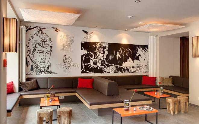 Meininger Hotel Berlin Mitte Humboldthaus - Berlin - Lounge