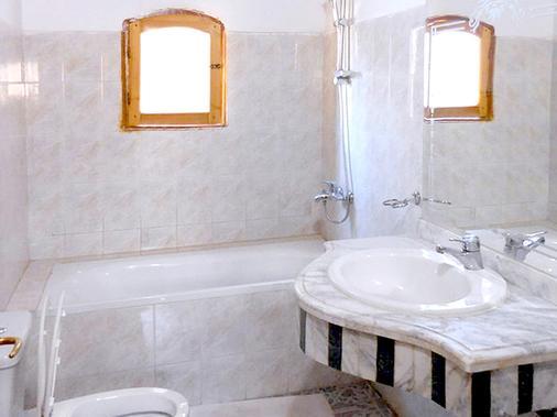 Hotel Sheherazade - Luxor - Phòng tắm