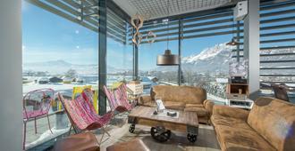 Cubo Sport & Art Hotel - St. Johann in Tirol - Lounge